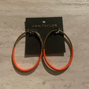 NWTAnn Taylor Hoop Earrings